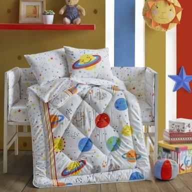 Bebek Uyku Seti Gezegen Beyaz