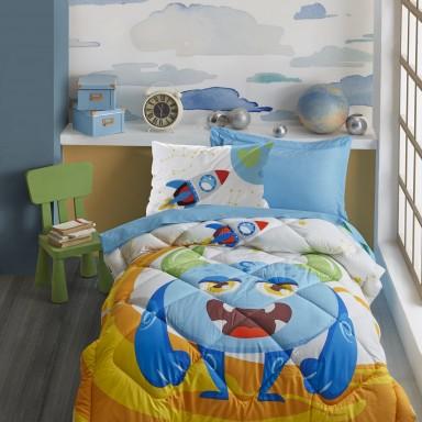 Junior Tek Kişilik Uyku Seti Giant Mavi