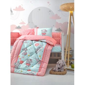 Bebek Uyku Seti Elephant Pembe
