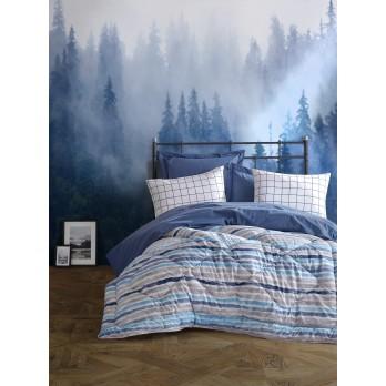 Çift Kişilik Uyku Seti Grace Mavi